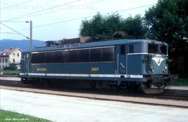 BB 25684 SNCF à Pontarlier (F-25)