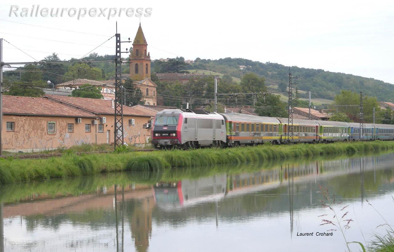 BB 26000 SNCF à Pompignan (F 82)