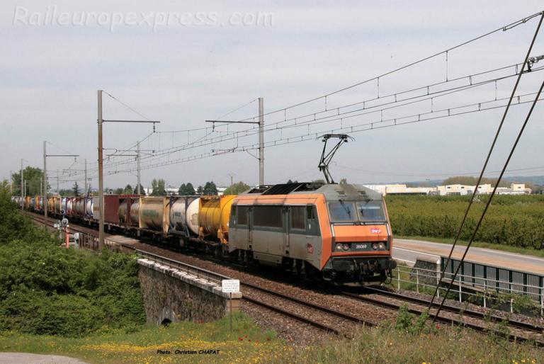 BB 26069 SNCF à Andance (F-07)