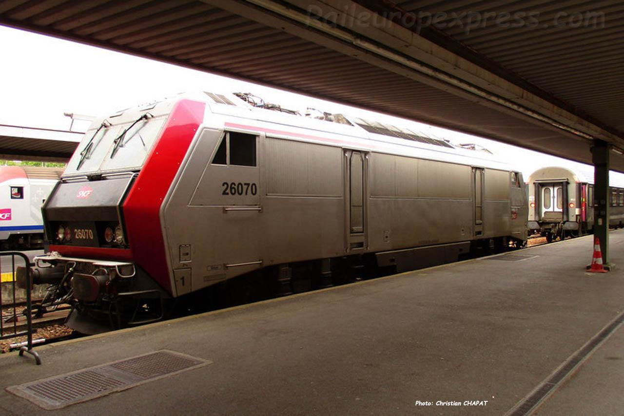 BB 26070 SNCF à Paris-Bercy (F-75)