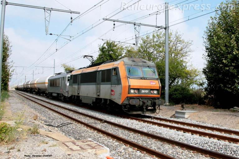 BB 26101 SNCF à Vic-Mireval (F-34)