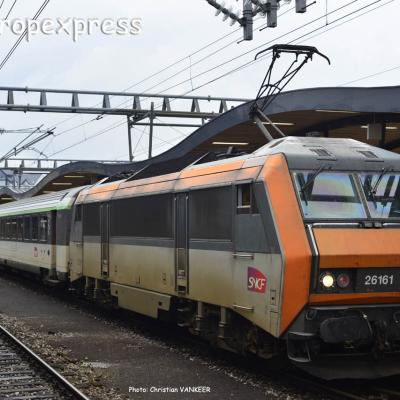 BB 26161 SNCF à Luxembourg (L)