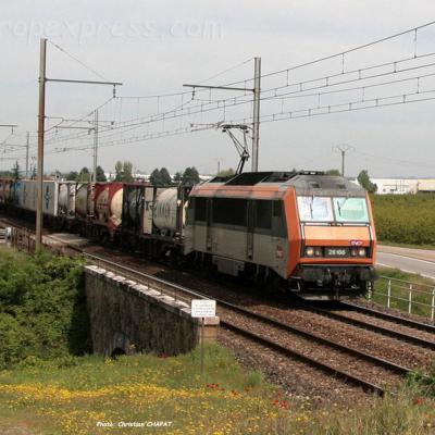 BB 26166 SNCF à Andance (F-07)