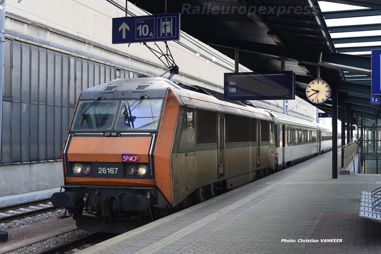 BB 26167 SNCF