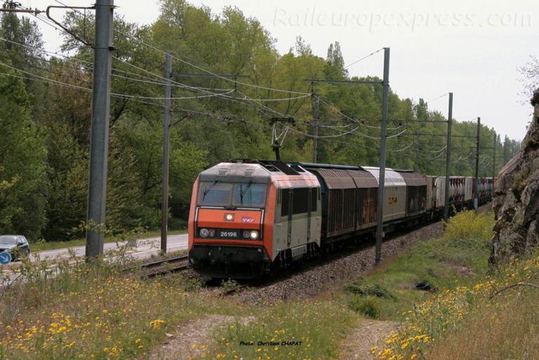 BB 26196 SNCF à Andance (F-07)