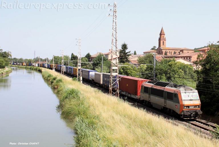 BB 26197 SNCF à Pompignan (F-82)