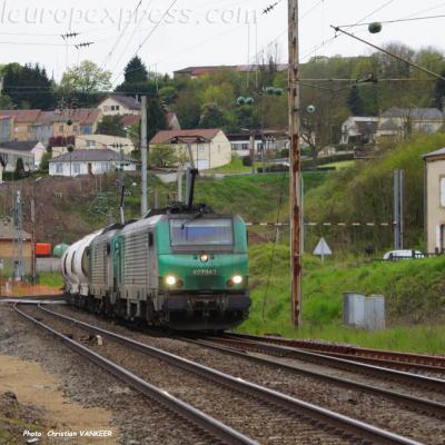 BB 27042 SNCF à Montmédy (F-55)
