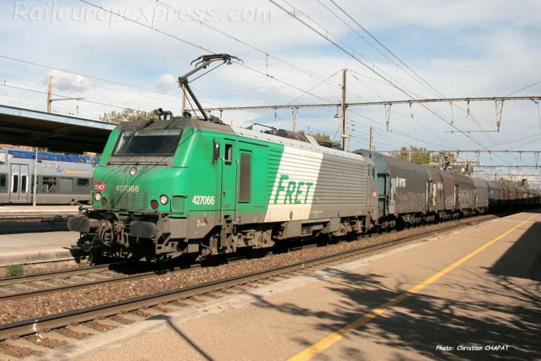 BB 27066 SNCF à Miramas (F-13)