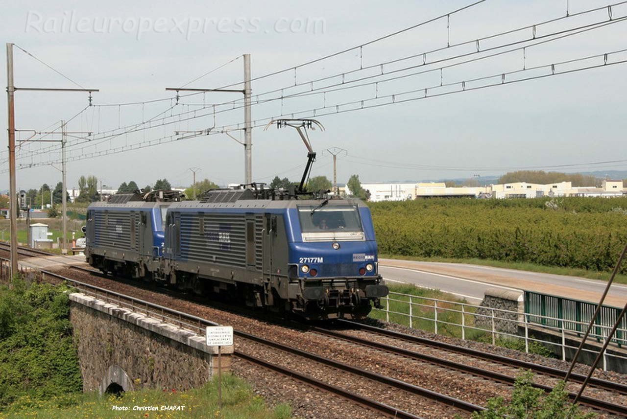 BB 27177 Régiorail à Andance (F-07)