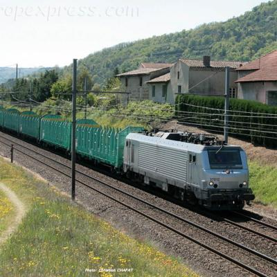BB 37012 SNCF à Saint Bosc (F-07)