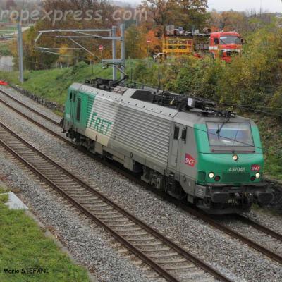 BB 37045 SNCF à Boudry (CH)