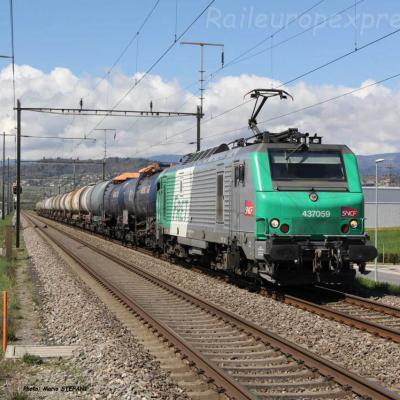 BB 37059 SNCF à Etoy (CH)