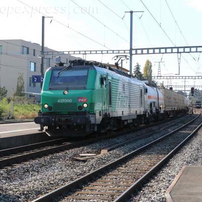 BB 37060 SNCF à Morges (CH)