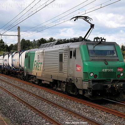 BB 37060 SNCF près de Montpellier (F-34)