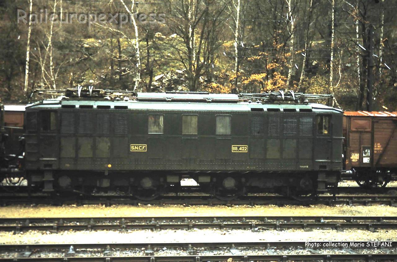 BB 4122 SNCF à Latour de Carol (F-66)