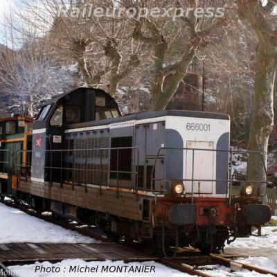 BB 66001 et Y 7173 à Villefort