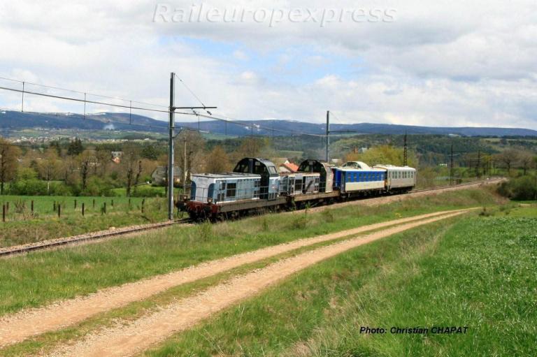 BB 66020 vers Ruynes en Margeride