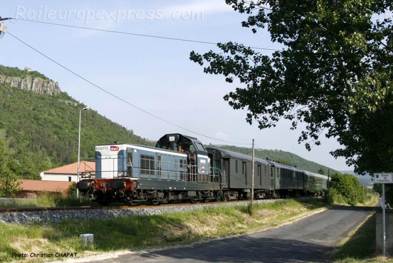 BB 66170 SNCF à Massiac (F-15)