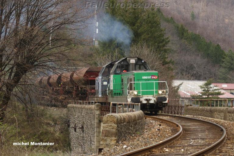 BB 66197 SNCF à Villefort (F 48)