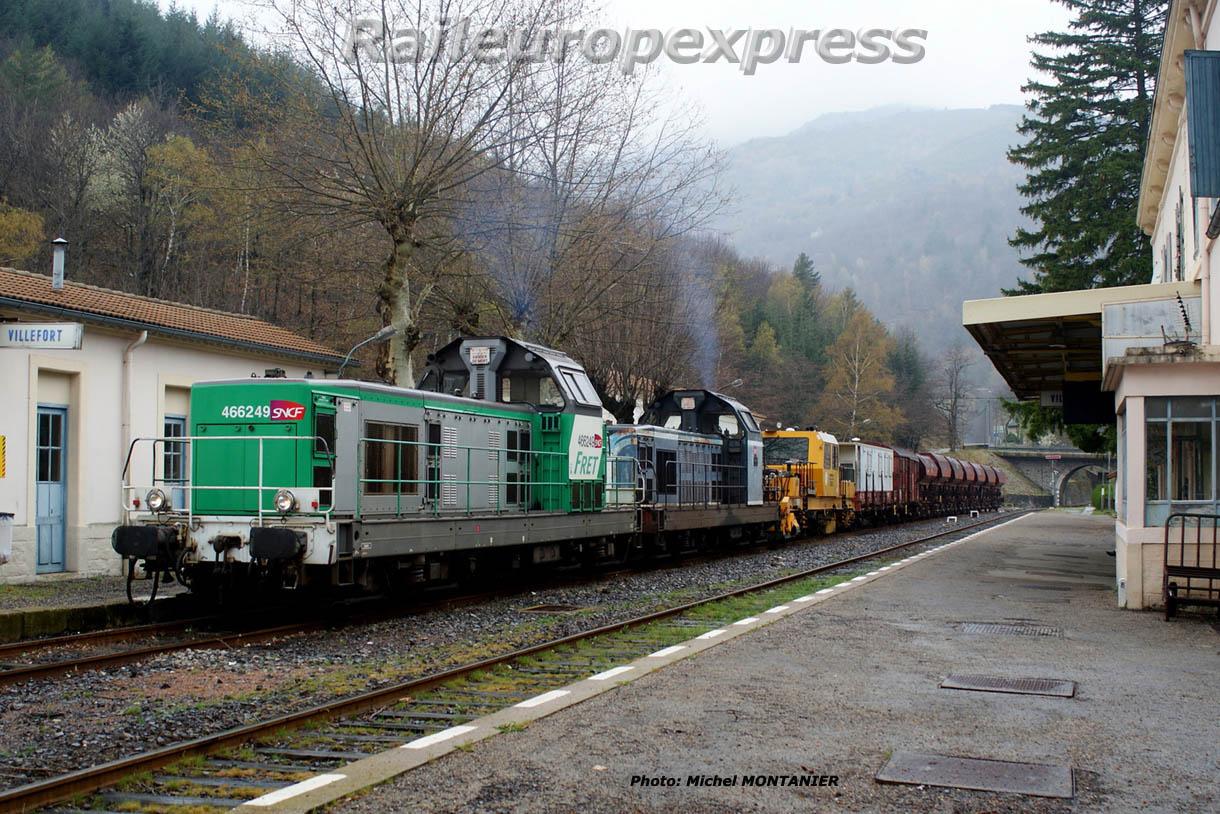 BB 66249 et  BB 66060 à Villefort