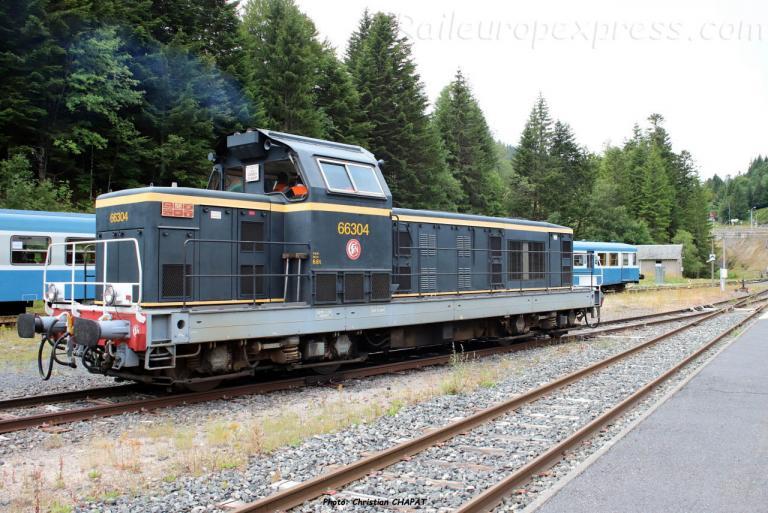 BB 66304 SNCF au Lioran (F-15)