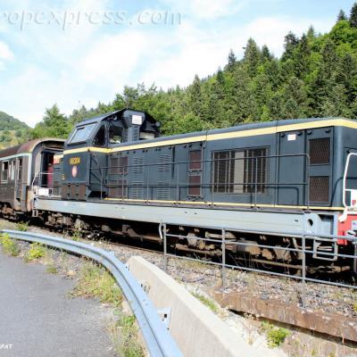 BB 66304 SNCF près du Lioran (F-15)