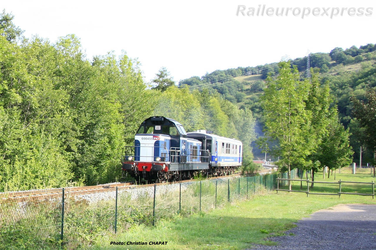 BB 66455 vers Blesle (F 43)