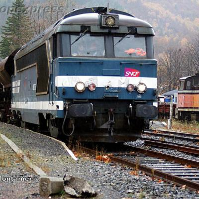 BB 67259 SNCF à Villefort (F 48)