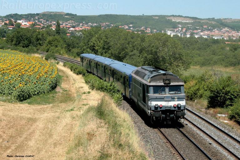 BB 67300 SNCF près du Cendre (F-63)