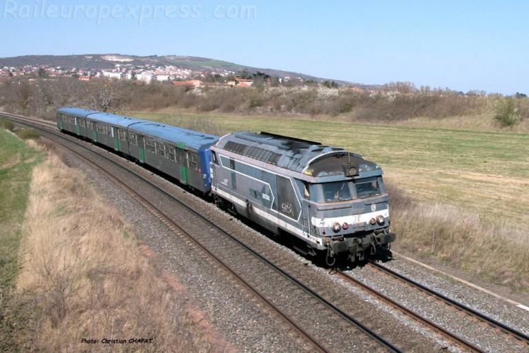 BB 67305 SNCF Le Cendre (F-63)