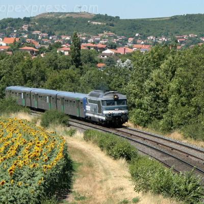 BB 67400 SNCF vers Le Cendre (F-63)