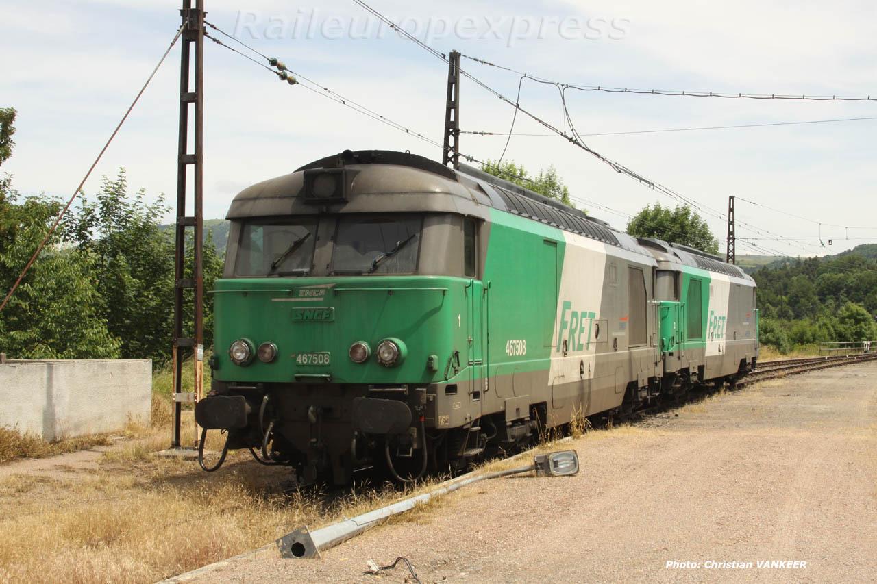 BB 67508 à Neussargues