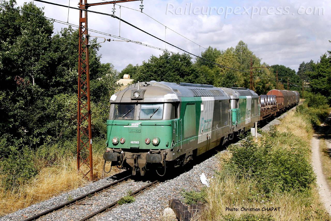 BB 67563 SNCF près de Garabit (F-15)