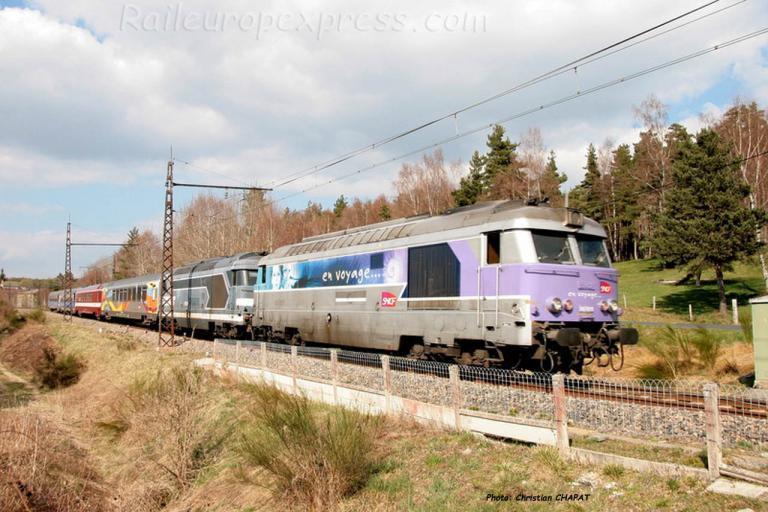BB 67611 SNCF à Arcomie (F-48)