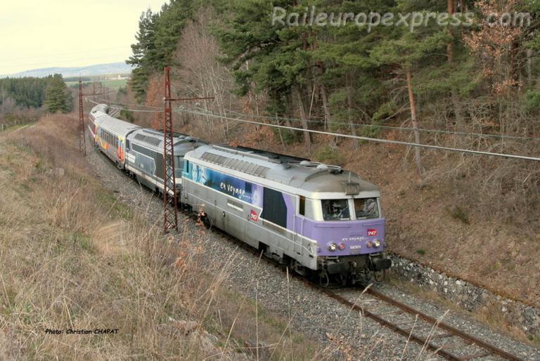 BB 67611 SNCF à Ruynes en Margeride (F-15)