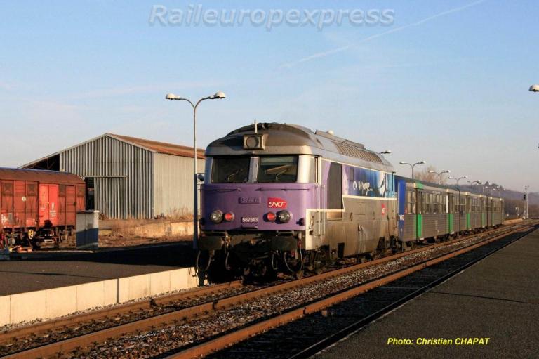 BB 67613 à Arvant