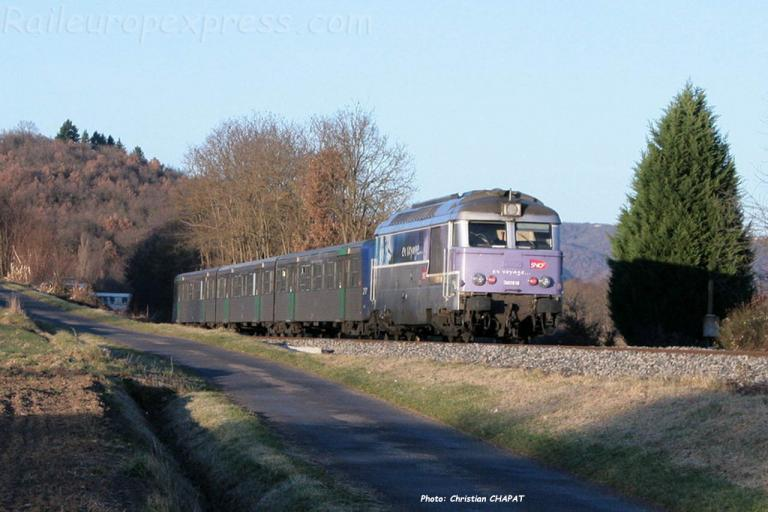 BB 67613 SNCF à Arvant (F-43)