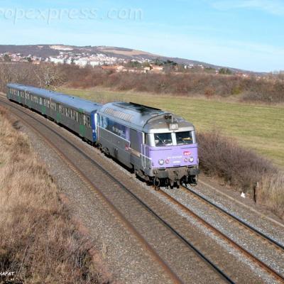 BB 67613 SNCF au Cendre (F-63)