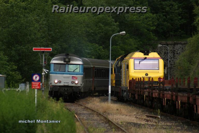 BB 67628 et BB 75088 à Villefort