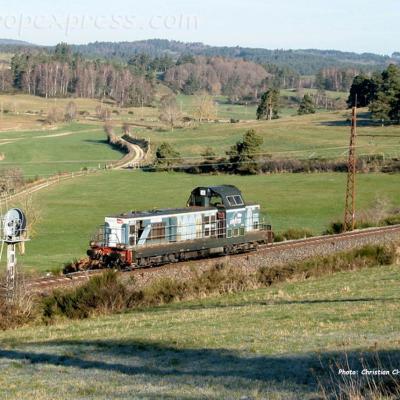 BB 69208 SNCF à St Chély d'Apcher (F-48)