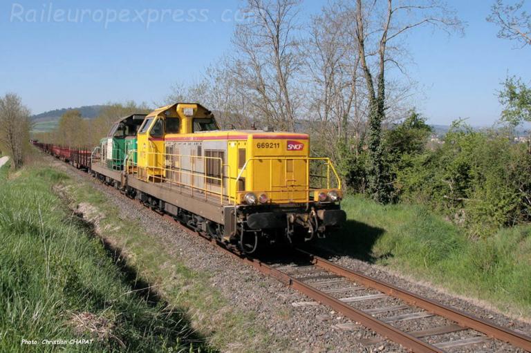 BB 69211 et 69306 à Fontanges (F-15)