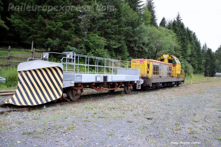 BB 69211 SNCF et chasse-neige