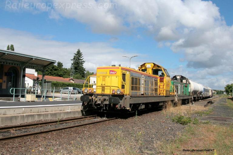 BB 69263 SNCF à Brioude (F-63)