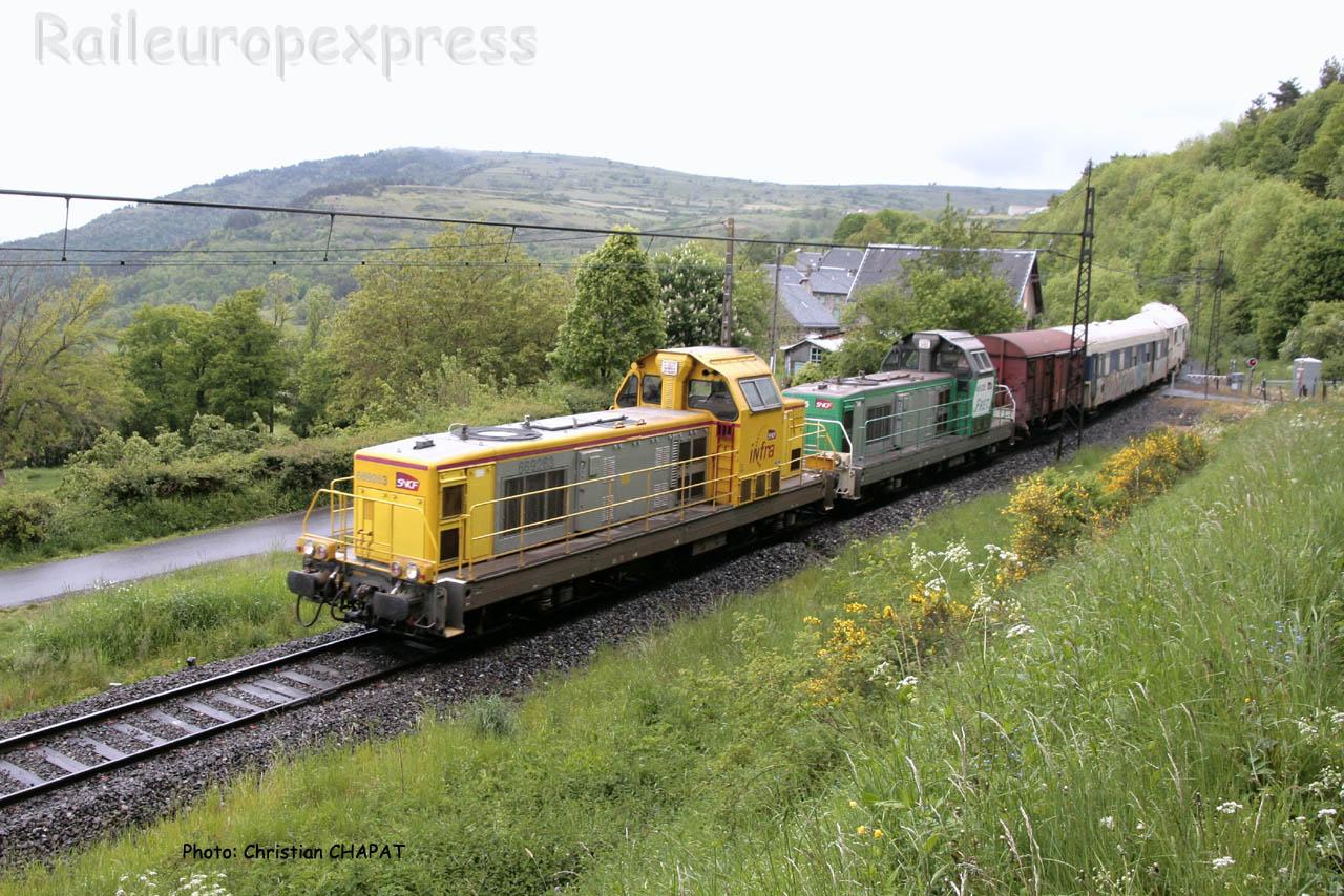 BB 69263 SNCF près de Neussargues (F-15)