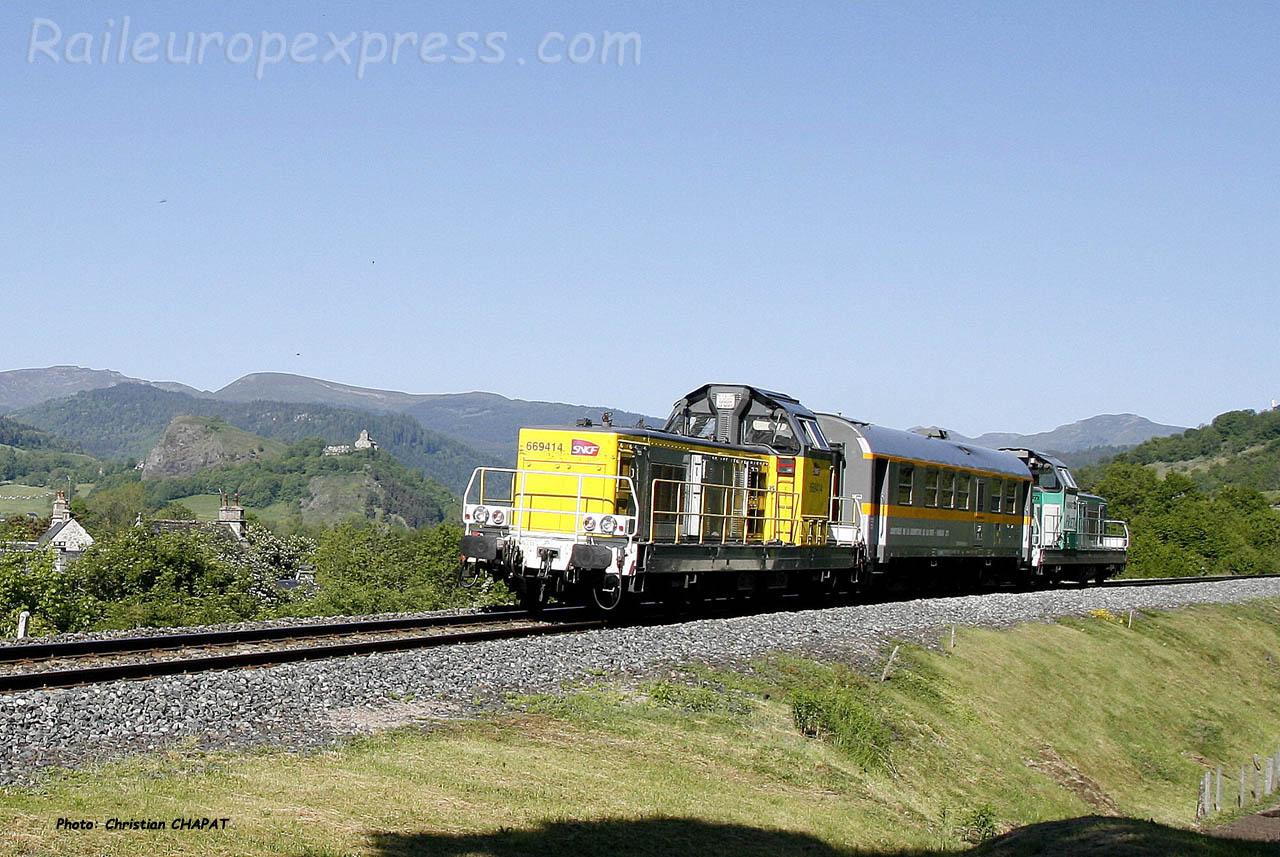 BB 69414 SNCF à Murat (F-15)