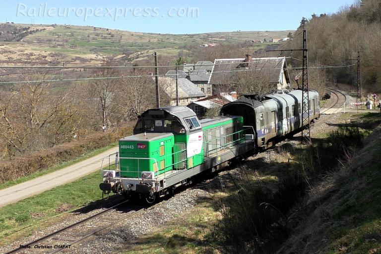 BB 69443 SNCF près de Neussargues (F-15)