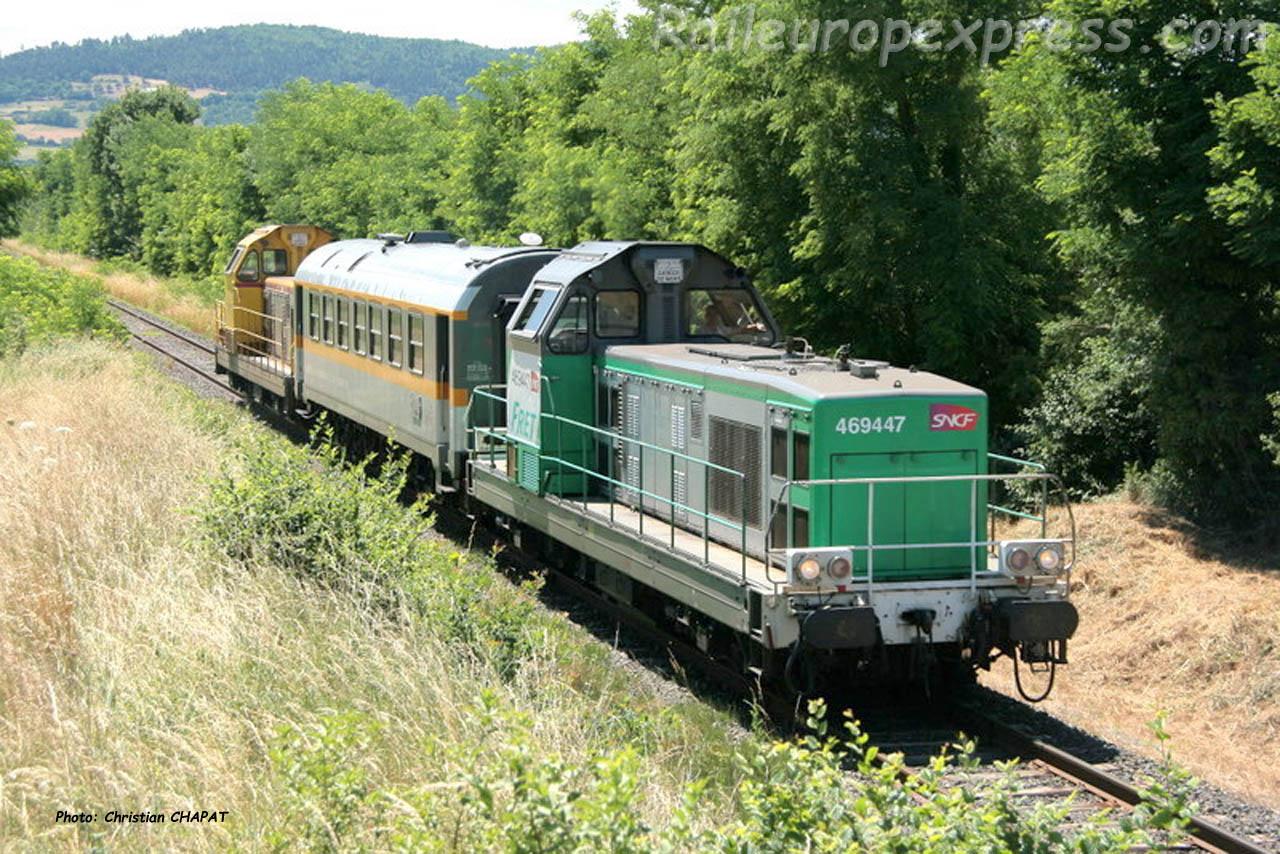 BB 69447 SNCF à Fontanes (F-43)