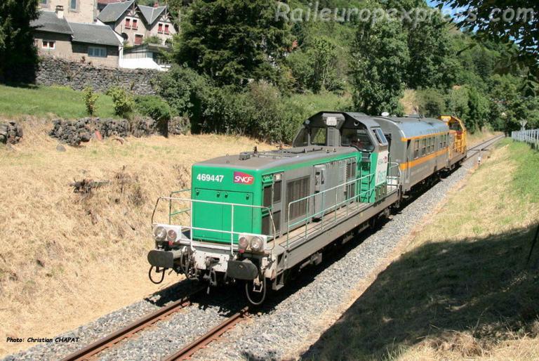 BB 69447 SNCF à Murat (F-15)