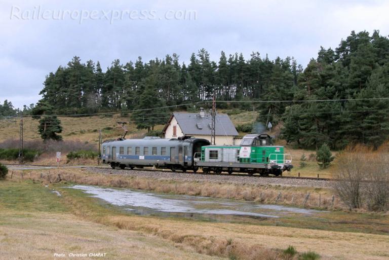 BB 69461 SNCF près d'Aumont-Aubrac (F-48)