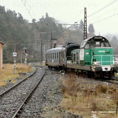 BB 69484 SNCF à Saint Flour (F-15)